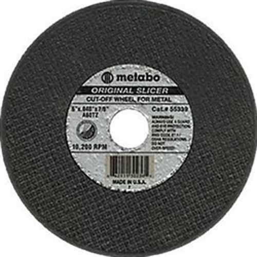 Metabo Slicer Cut Off Wheel 5'' X .040 Pack of 400 by Metabo