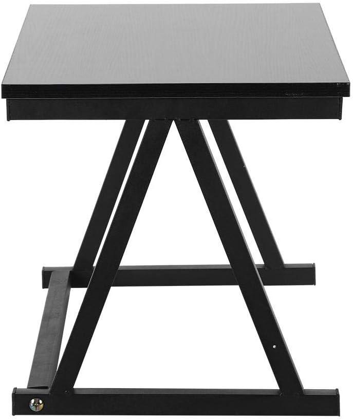Estante de cocina rack Spice Rack armario estanter/ía estantes 57 x 38 x 38 cm Negro armario de cocina de la parrilla del horno estante para horno microondas
