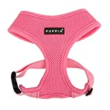 Puppia Soft Dog Harness, Pink, Small