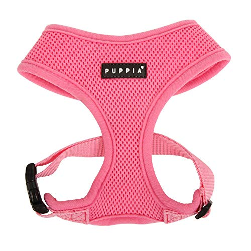 Top Dawg Pet Supply Air - Puppia Soft Dog Harness, Pink, Small