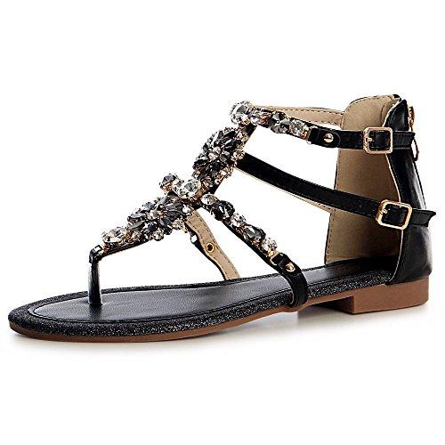 Topschuhe24 Femmes Sandales Femmes Topschuhe24 Noir Noir Sandalettes Topschuhe24 Sandalettes Sandales Femmes w6Rttfq