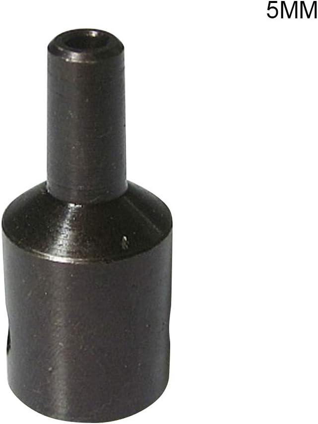 Domeilleur 4 – 12 mm Eje de motor Taladro Abrazadera Portabrocas Acoplador Conector tornillo de manga, 5 mm