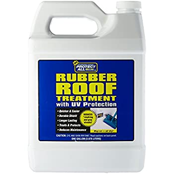 RV Rubber Roof Treatment   1 Gallon   Anti Static, Dirt Repelling, And