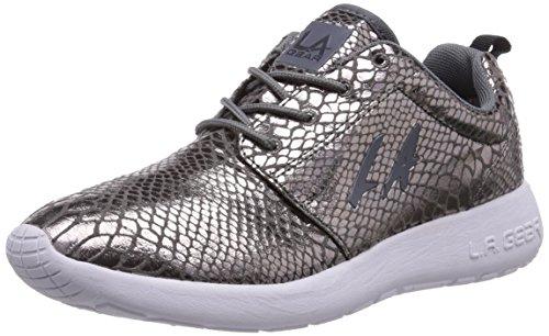 L.A. Gear Sunrise - zapatilla deportiva de material sintético mujer gris - Grau (DK Grey 02)