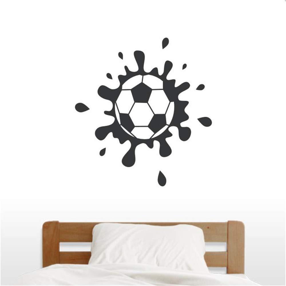 Venta caliente Muddy balón de fútbol arte de la pared dormitorio ...