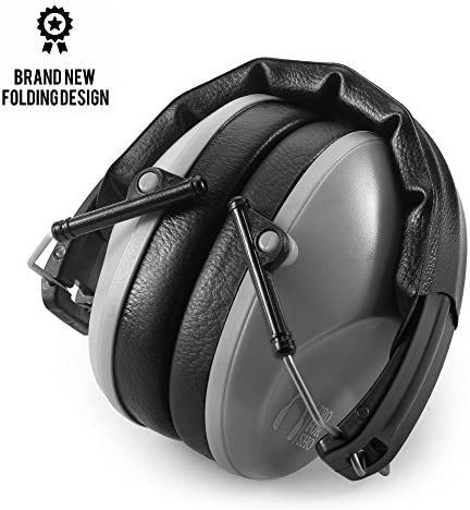 Pro For Sho 34dB Shooting Ear Protection - Special Designed Ear Muffs Lighter Weight & Maximum Hearing Protection