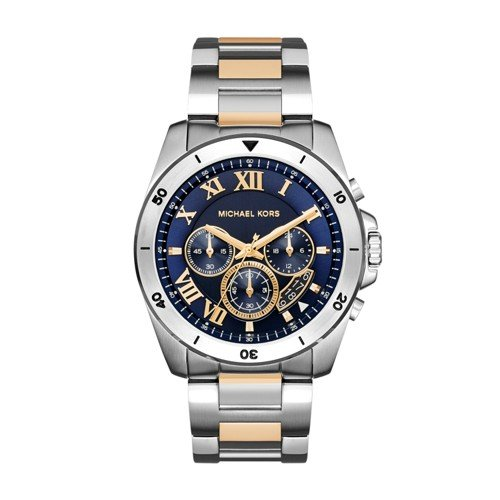 Michael Kors Men's Brecken Two-Tone Watch MK8437