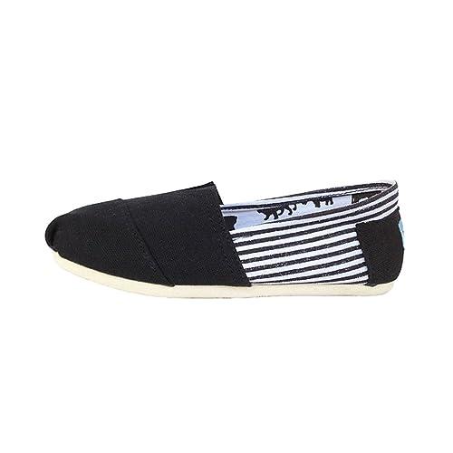 Dooxi - Mocasines de Lona para Hombre, Color, Talla 39 EU: Amazon.es: Zapatos y complementos