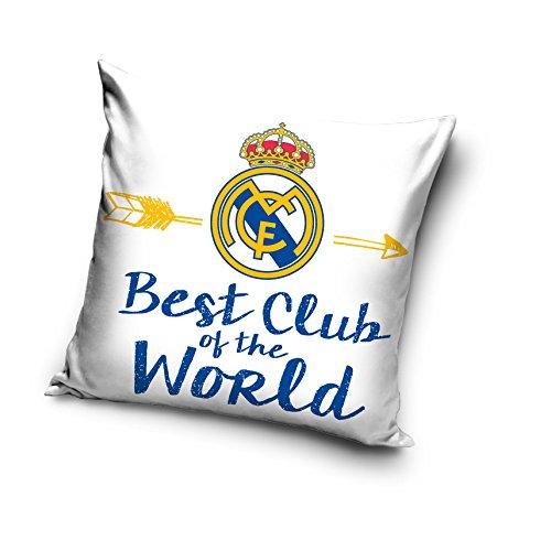 Real Madrid decorativo funda para cojín funda de almohada de ...