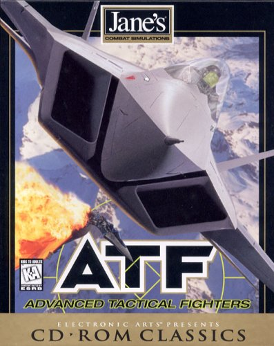 Jane's ATF Advanced Tactical Fighters, Windows 95 & - Dos Ms Games