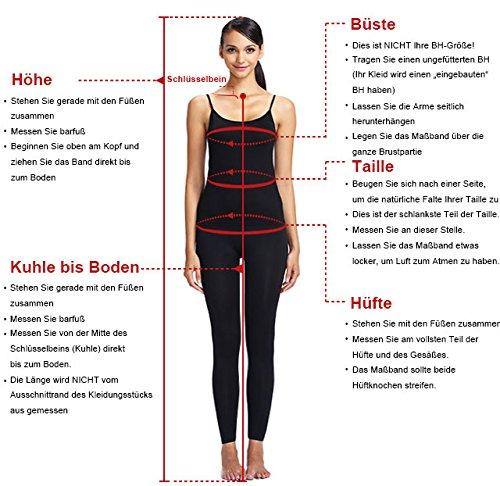 Rot Formal Elegant Bodelang Abschlussballkleider Braut mit Abendkleider Ballkleider La mia Schwarz Festlichkleider Bodenlang Spitze A0FwxFt