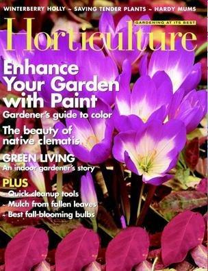 Read Online Horticulture Magazine October/November 2007 pdf