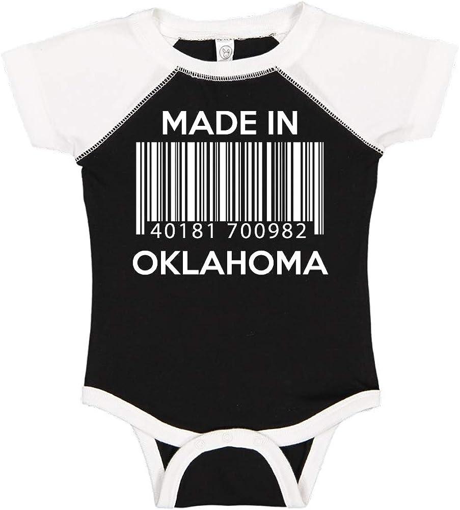 Barcode Toddler//Kids Short Sleeve T-Shirt Made in Oklahoma