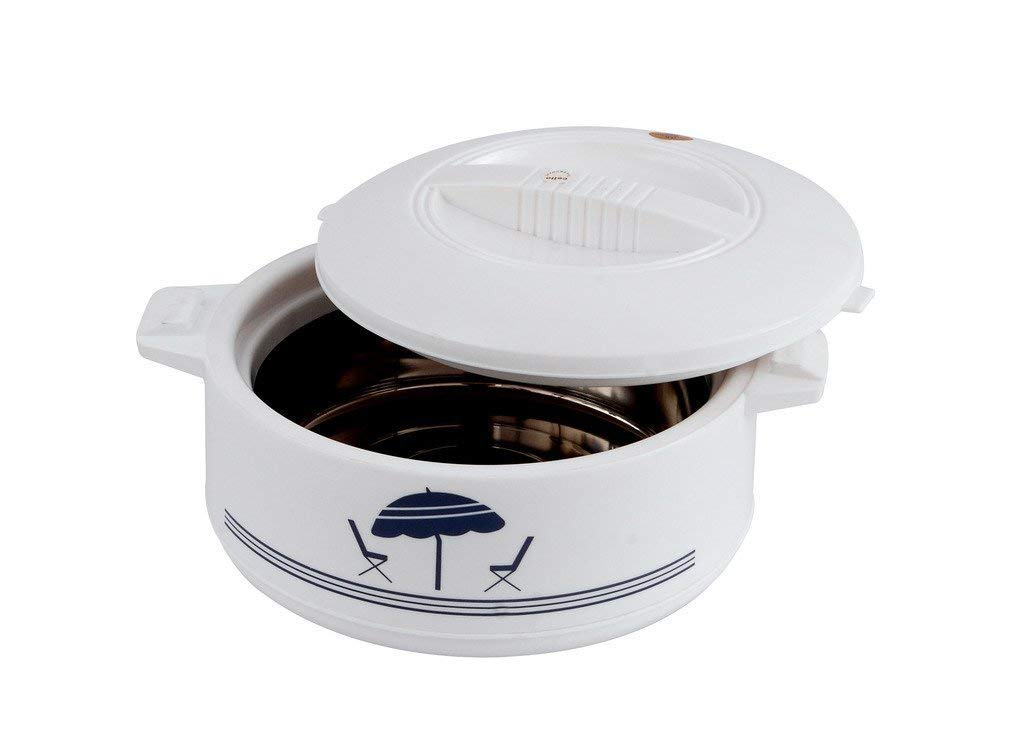 Cello CE-5.0L Chef Deluxe Hot-Pot Insulated Casserole Food Warmer/Cooler, 5-Liter, White by Cello