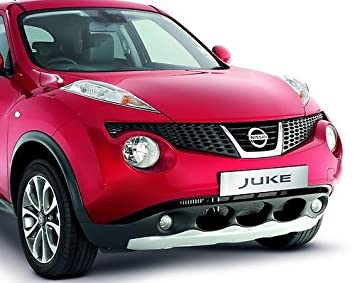 Genuine Nissan Juke Front Bumper Protection Styling Plate Sports Trim: Amazon.es: Coche y moto