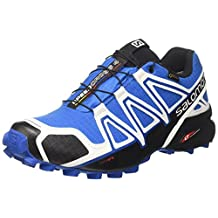 Salomon Mens Speedcross 4 GTX White Sensif