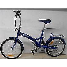 SHIMANO FOLDING BICYCLE BLUE