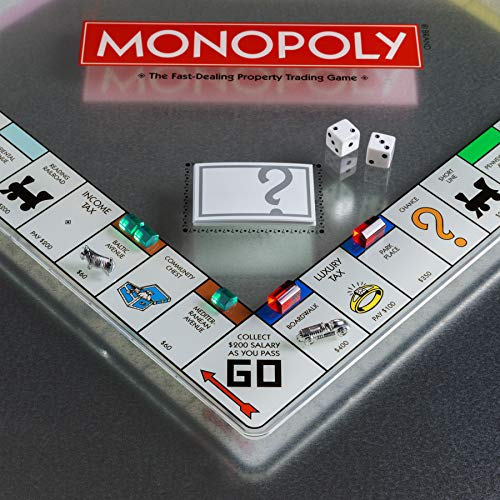 WS Game Company Monopoly Glass Edition