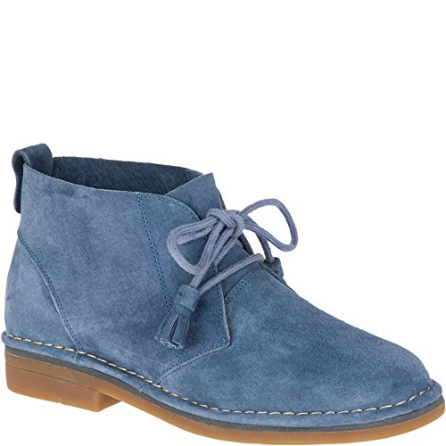 Hush Puppies Women's Cyra Catelyn Ankle Boot, Vintage Indigo, 7 W US