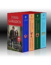 Outlander Boxed Set: Outlander, Dragonfly in Amber, Voyager, Drums of Autumn: 01-04