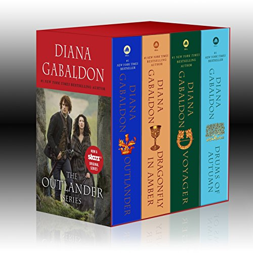 - Outlander 4-Copy Boxed Set: Outlander, Dragonfly in Amber, Voyager, Drums of Autumn