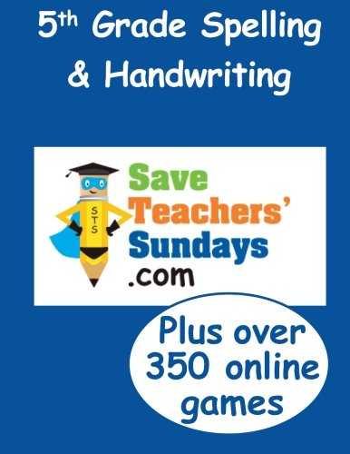 5th Grade Spelling & Handwriting (Spelling & Handwriting workbooks from -