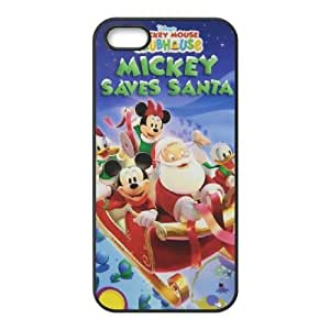iPhone 4 4s Cell Phone Case Black Mickey's Twice Upon a Christmas M4N3N