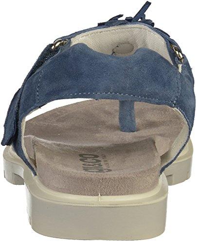 jeans Blau Toe Peep Donna amp;co Igi x7BnFF