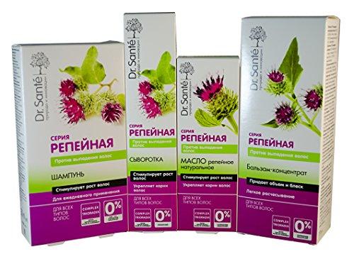 (Dr. Sante Burdock Series Anti-Hair Loss (Set of 4 Products): Shampoo, Mask, Oil, Serum)
