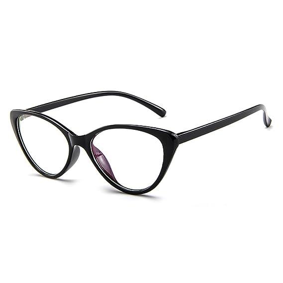 01b94d79d0 Forepin Montura para Gafas de Vista Mujer Ojos De Gato Lente Transparentes:  Amazon.es: Ropa y accesorios