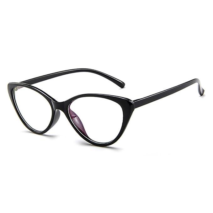 659c89d582713 Forepin Montura para Gafas de Vista Mujer Ojos De Gato Lente Transparentes   Amazon.es  Ropa y accesorios