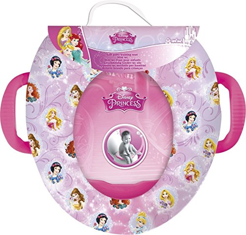 Disney Princess Girls Soft Padded Potty Training Bath Seat