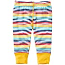 Hanna Andersson Baby Baby Wiggle Pants In Organic Cotton, Size 50 (0-6 Months), Rainbow Multi