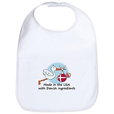 58f4d812df905 CafePress Pride Cigogne bébé Danemark USA Bavoir - Standard Kiwi [Vêtements]:  Amazon.fr: Vêtements et accessoires