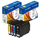PrintOxe™ Compatible Set Replacement for 940XL of 4 Ink Cartridges 940 ; Black, Cyan, Magenta & Yellow (See Compatible Printer Models Under Description) Exclusively sold by PanContinent