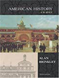 American History Vol. 2 : MP, Brinkley, Alan, 0072396458