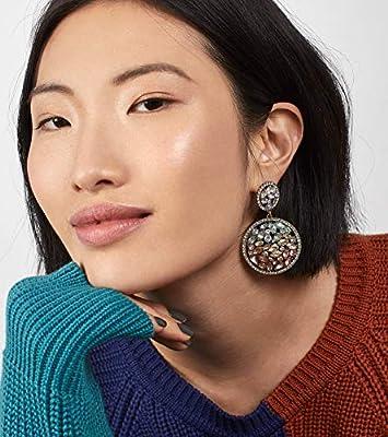 Dvacaman Crystal Dangle Earrings for Women - Statement Rhinestone Drop Friendship Earrings, Idea Gift for Mom, Sister and Friend