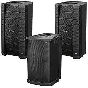 Two Bose F1 Flexible Array Loudspeakers with F1 Subwoofer by Bose