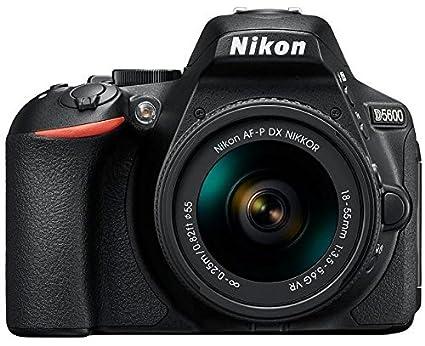 Renewed  Nikon D5600 Digital Camera 18 55mm VR Kit  Black  Digital SLRs