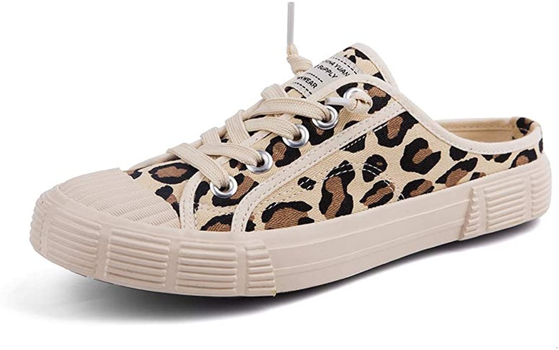Shoes Loafers Leopard Mule Slippers