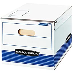 Bankers Box Shipping and Storage Boxes, Letter/Legal, 12 Pack (0007101)