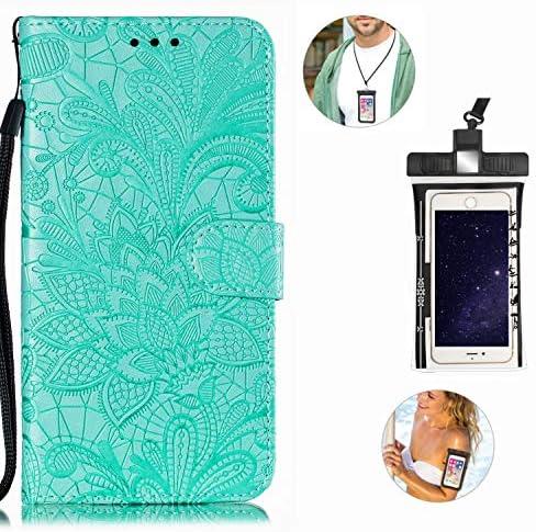 耐汚れ 手帳型 Samsung Galaxy A40 ケース 本革 レザー カバー 財布型 スタンド機能 カードポケット 耐汚れ 全面保護 人気 アイフォン[無料付防水ポーチケース]