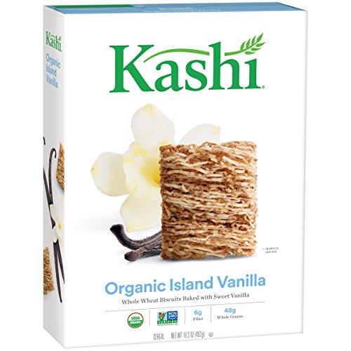 Kashi Organic Promise Cereal, Island Vanilla, 16.3 Ounce (Vanilla Cereal)