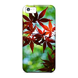 Perfect Twig With Leaves Case Cover Skin For Iphone 5c Phone Case