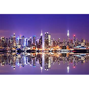 Amazon.com : LFEEY 5x3ft New York City Night View Photo
