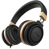 Headphones with Microphone, Honstek A5 Portable...
