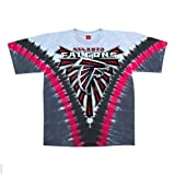 Atlanta Falcons Logo V Tie Dye T-shirt
