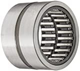 INA RNAO45X62X40 Needle Roller Bearing, Steel Cage, Open End, Metric, 45mm ID, 62mm OD, 40mm Width, 9000rpm Maximum Rotational Speed