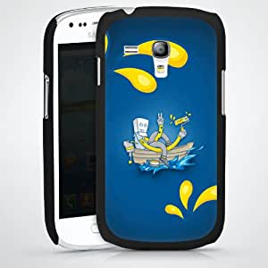 Carcasa Design Funda para Samsung Galaxy S3 Mini I8190 HardCase black - Painter