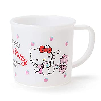 Amazon.com: Hello Kitty Sanrio - Taza de bebida de plástico ...